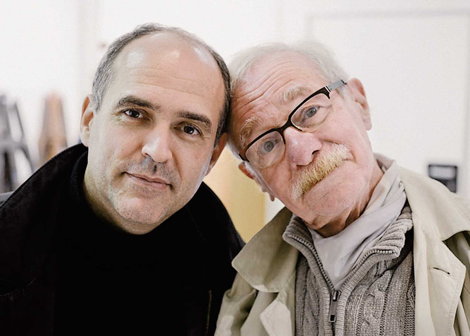 Olivier Nineuil et Albert Boton (photo Mike Sabbagh).
