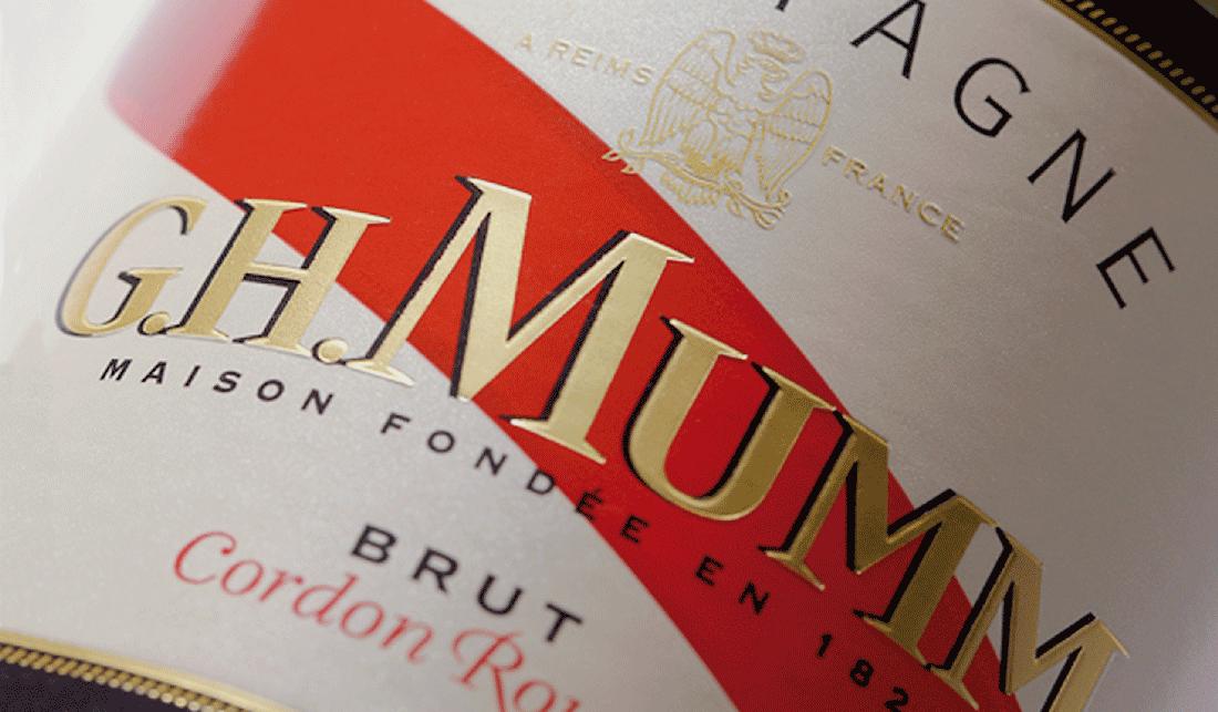 Typofacto Champagne Mumm