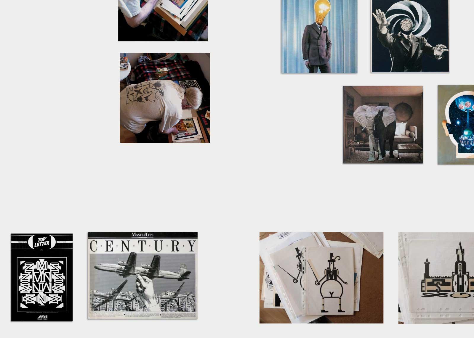 Jean Alessandrini — Collages.