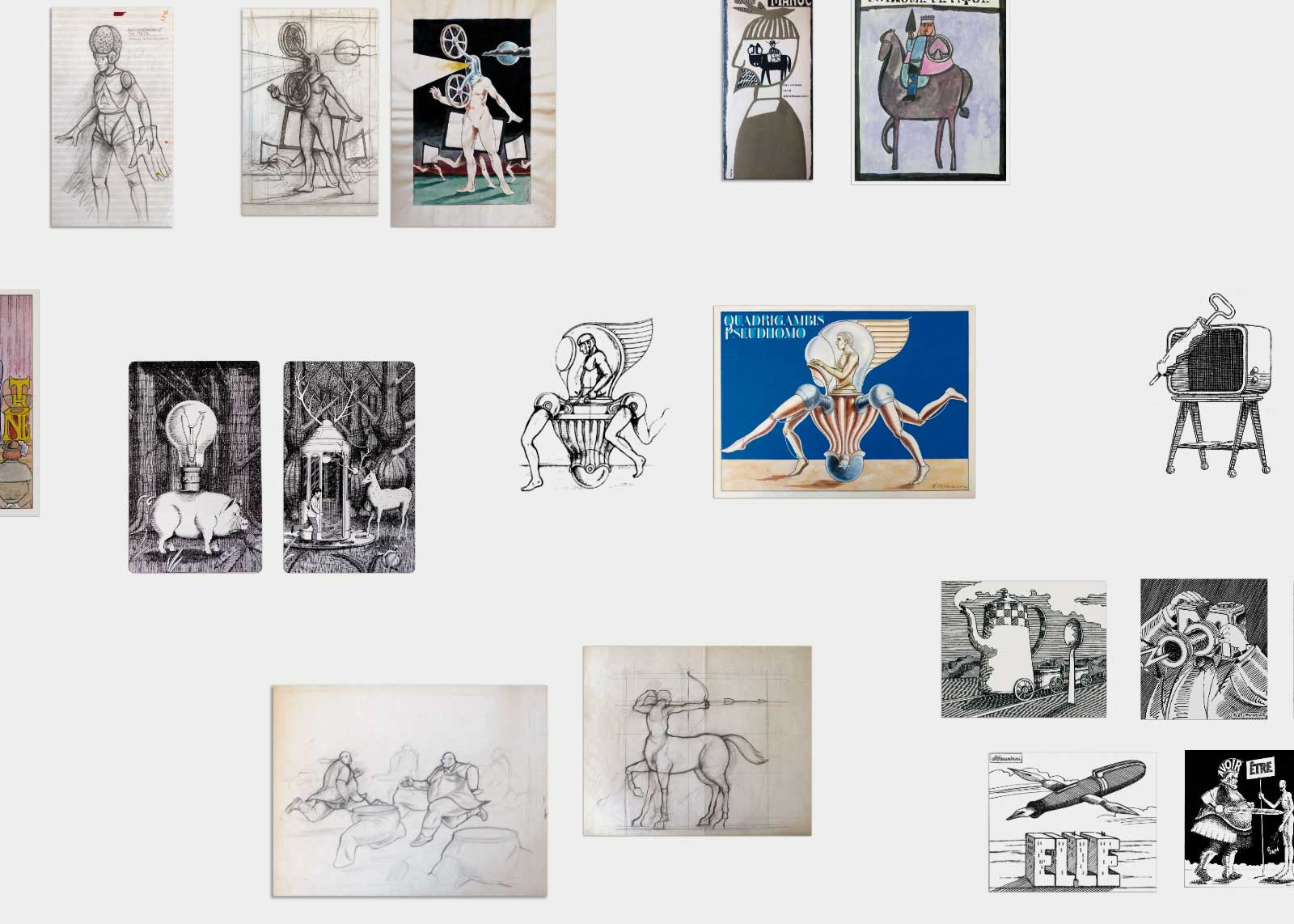 Jean Alessandrini — Illustrations.