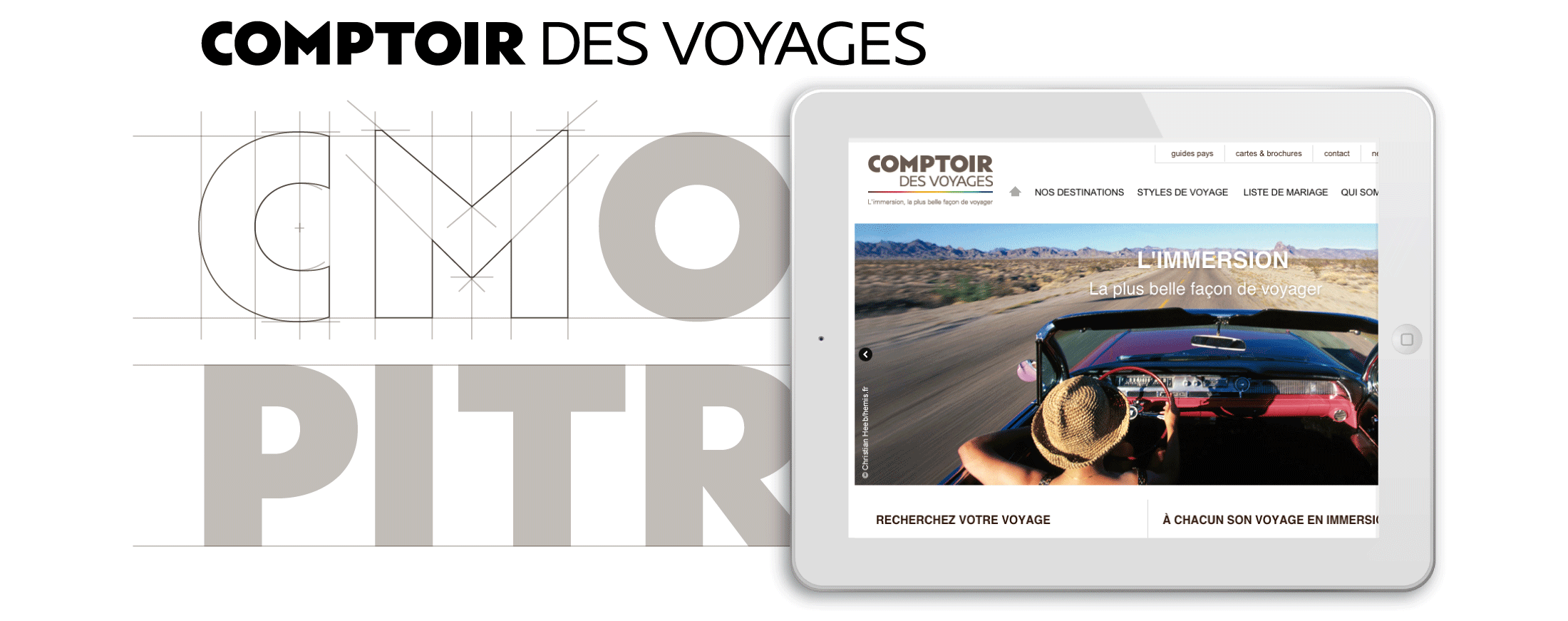 TYPOFACTO Comptoir des Voyages