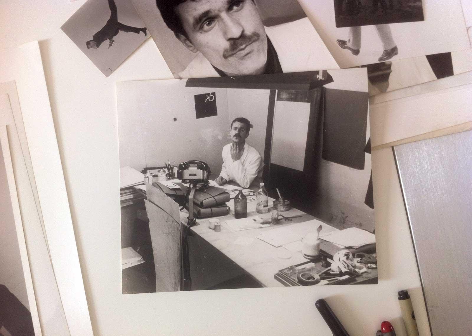 Plongée dans les archives photographiques, portrait d'albert. Chez A. Boton, Vernon.
