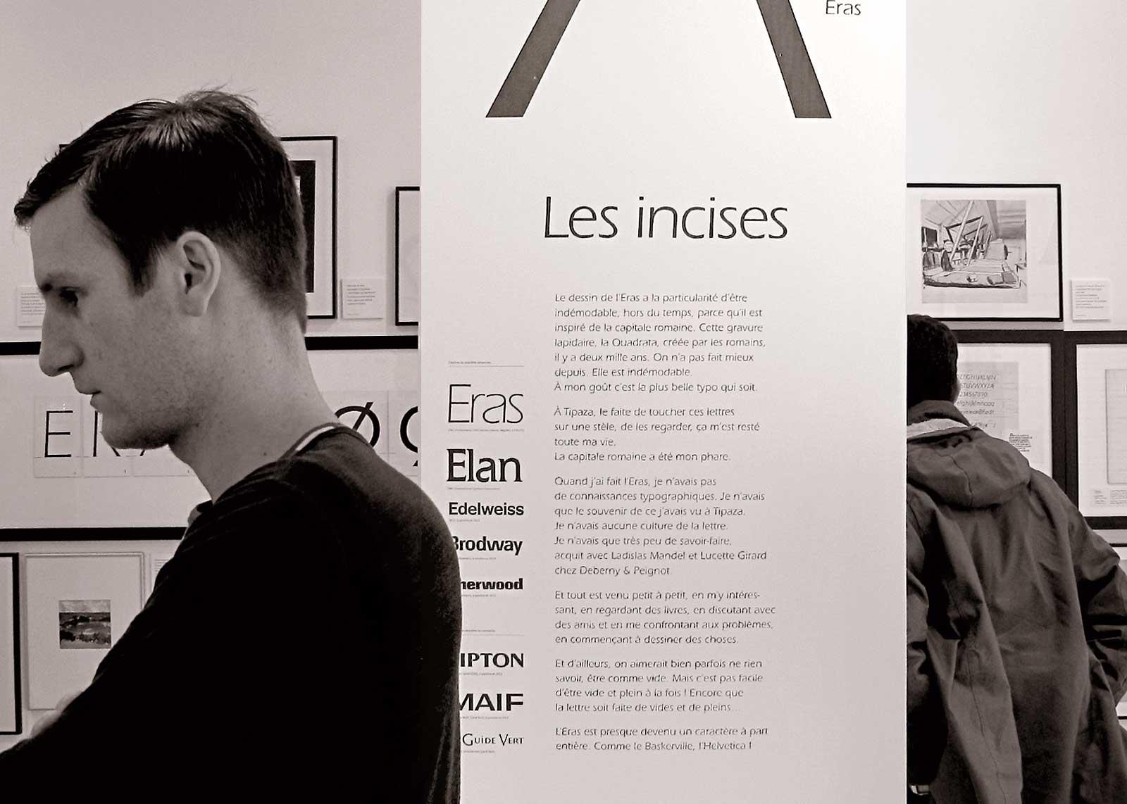 Albert Boton, visite guidée avec les Rencontres de Lure (photo Denis Patouillard).