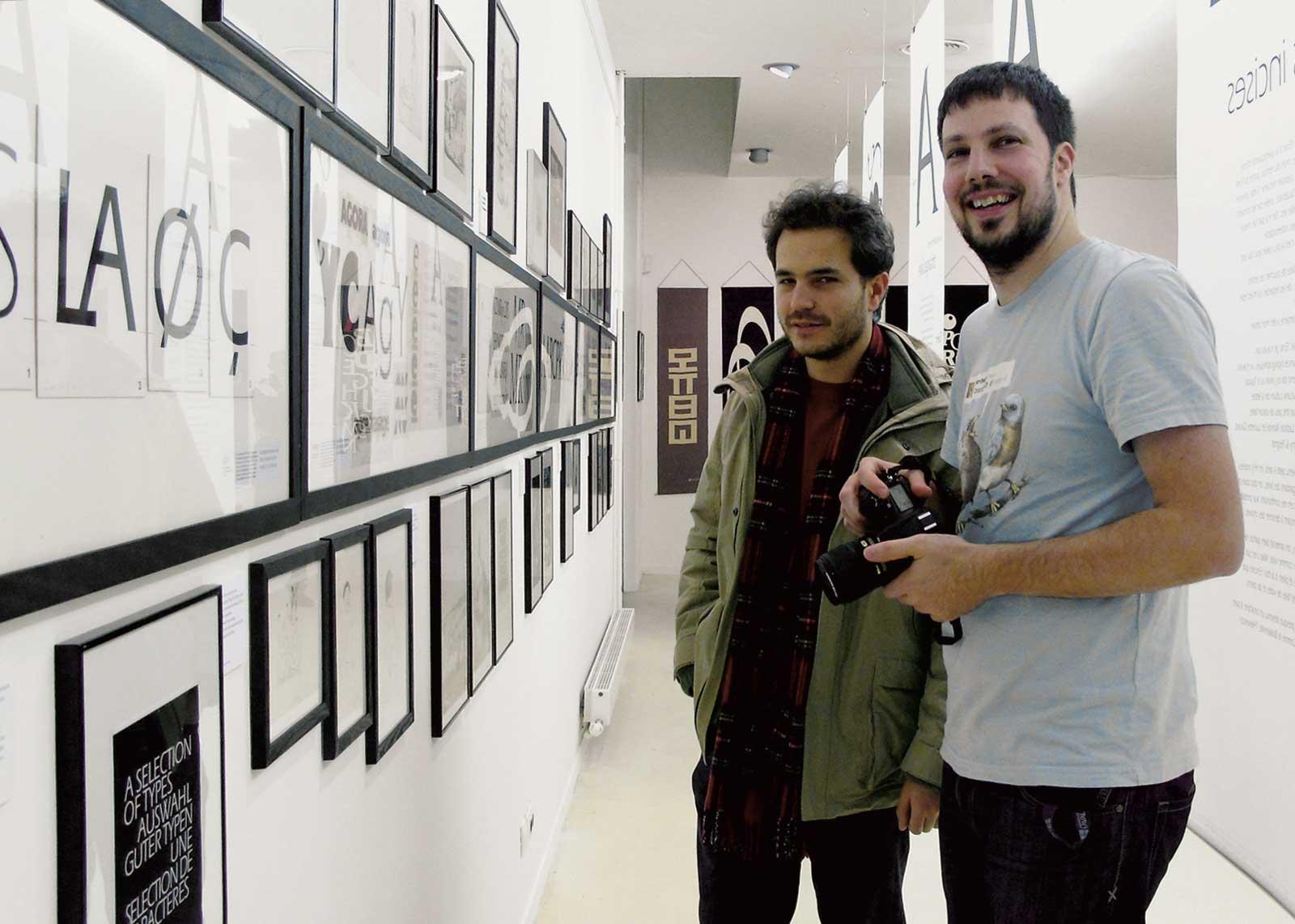 Albert Boton, visite guidée avec les Rencontres de Lure. Thomas Bouville, Mike Sabbagh (photo Denis Patouillard).