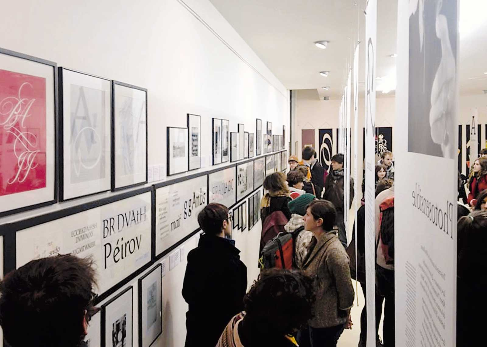Albert Boton, vernissage exposition (photo Mike Sabbagh).